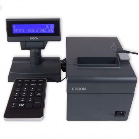 EPSON FP81 II Fiscalizer / Electronic Cash Register with 80mm roll + 23 keyboard + Display (EPSON C31CB75004JN)