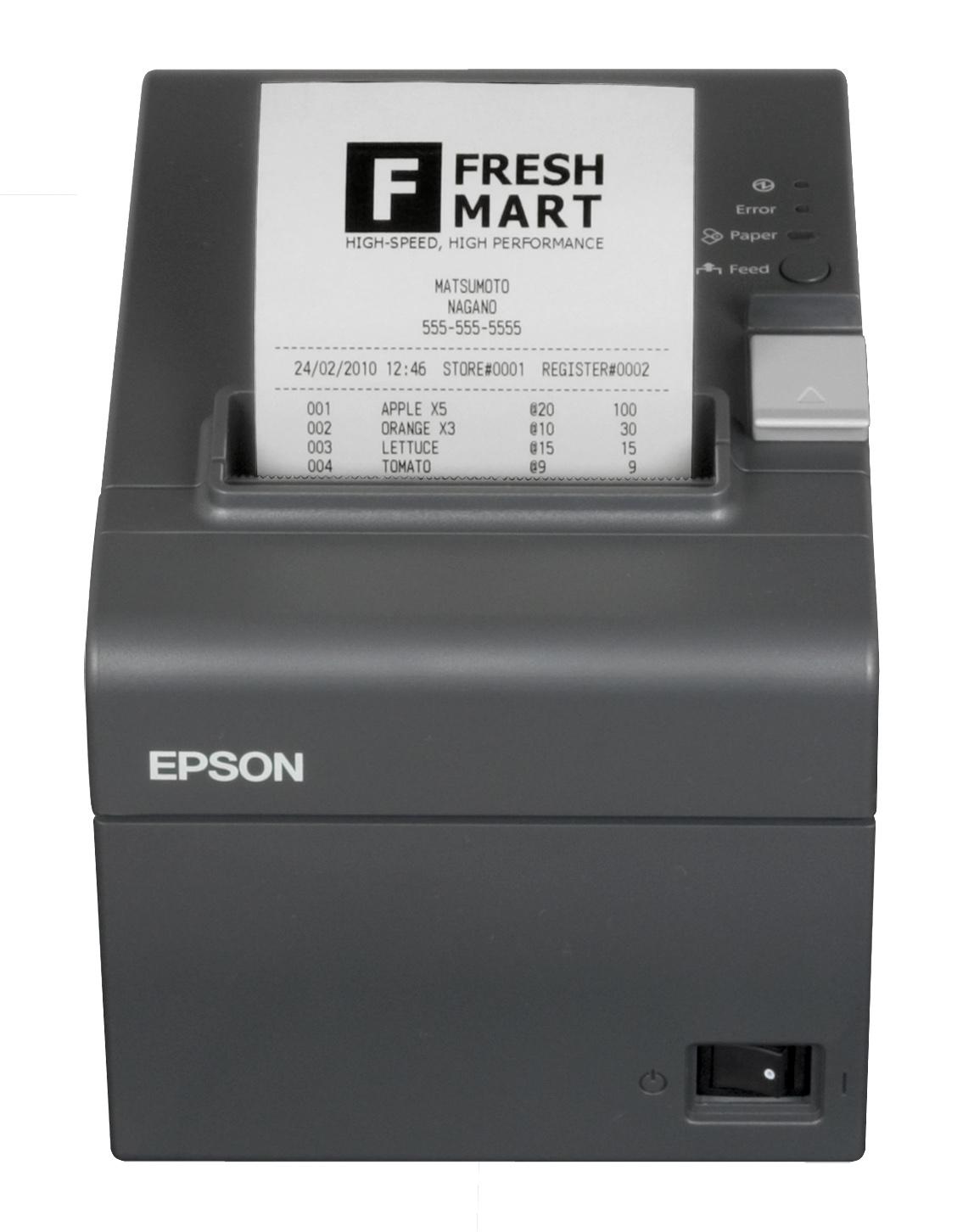 Fiscalizzatore/Cassa Elettronica EPSON FP81 II con rotolo da 58mm + Tastiera 23 + Display (EPSON: C31CB75014JD)